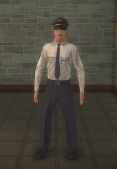 Pilot - white shirt Copilot - character model in Saints Row 2