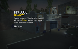 Rim Jobs in Southern Cross purchased in Saints Row 2