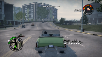 Stiletto - rear without roof in Saints Row 2