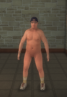 Streaker - pudgy - character model in Saints Row 2