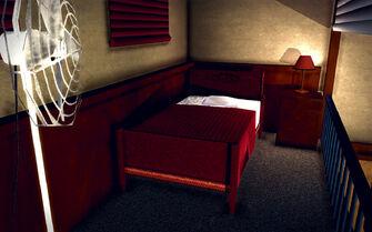 University Loft - Classy - bed