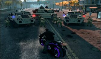 X-2 Phantom with SNG Bear and Challenger in Saints Row The Third