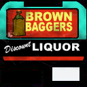 Brown Baggers - sign texture