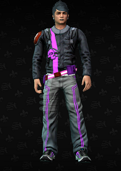 Gang Customization - Decker 4 - Steven - in Saints Row The Third