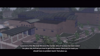 New Hennequet Rec Center intro - aerial view of Marshall Winslow Rec Center