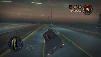 Runner rear passengers tilted