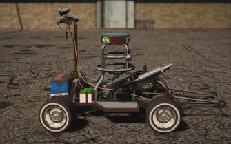 Saints Row IV variants - Shayne's Barstool Racer - left