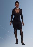 Shaundi - white house - character model in Saints Row IV