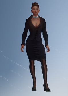 Shaundi - white house - character model in Saints Row IV