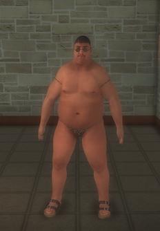 Beach male - hispanic - character model in Saints Row 2