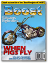 Boost-unlock racing bike