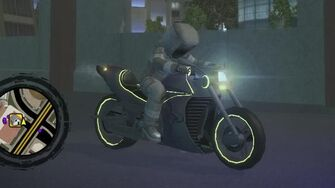 Kaneda - front right with lights in Saints Row 2