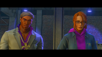 Pierce and Kinzie in Saints Row The Third