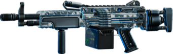 SRIV Rifles - Automatic Rifle - Mercenary LMG - Digital Camo
