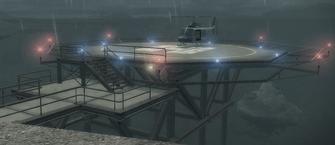 Stilwater Penitentiary - Helipad with Oppressor