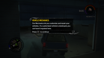 Vehicle Mechanics tutorial in Saints Row 2