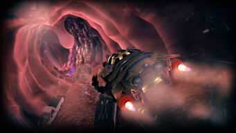 Enter the Dominatrix - flying through throat