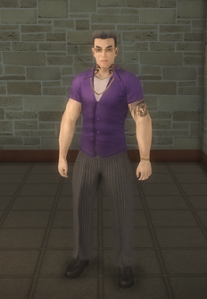 Johnny Gat - street - character model in Saints Row 2