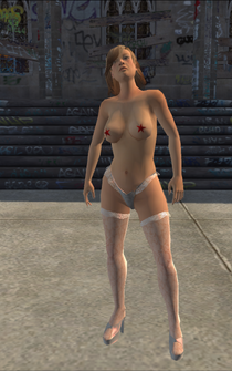 Samantha - stripper - character model in Saints Row