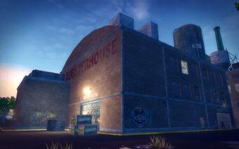 The Mills in Saints Row 2 - Slaughterhouse