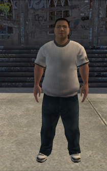 Generic young male 02 - asian - character model in Saints Row