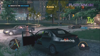 Neuron in Platform32 gameplay video