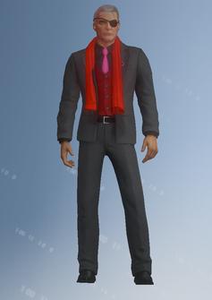 Phillipe Loren - eyepatch - character model in Saints Row IV