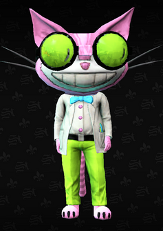 Professor Genki - character model in Saints Row The Third