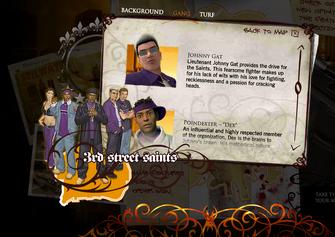 Saints Row promo website - Johnny Gat