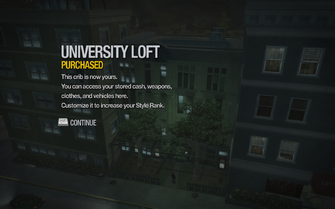 University Loft purchased