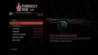 Weapon - Shotguns - Semi-Auto Shotgun - Upgrades