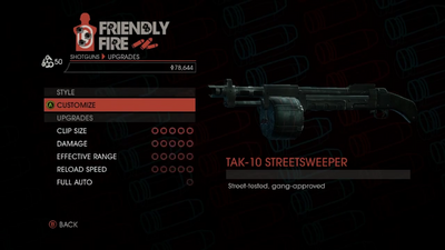Weapon - Shotguns - Semi-Auto Shotgun - Upgrades