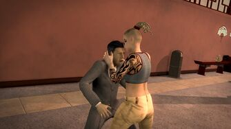 Brotherhood Fighting Style - Three Headbutts first