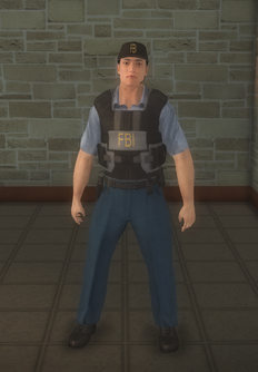 FBI - Asian - character model in Saints Row 2