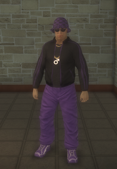 Gang Customization - 80s - male lieutenant - hispanic
