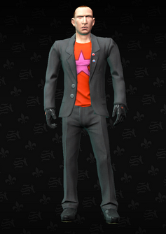 Morningstar Lieutenant m05 - character model in Saints Row The Third