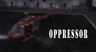 Oppressor - Brotherhood variant with logo on cargo ship after The Enemy of my Enemy