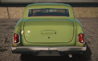 Saints Row IV variants - Gunslinger Classic - rear