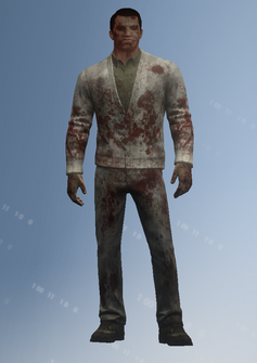 Zombie - college male - character model in Saints Row IV