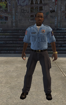 EMT male - black - character model in Saints Row