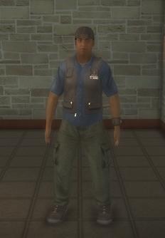 Paparazzi - black - character model in Saints Row 2