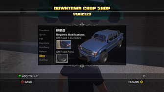 Saints Row Chop Shop - Downtown - Mag