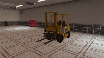 Saints Row variants - Forklift - standard - front left