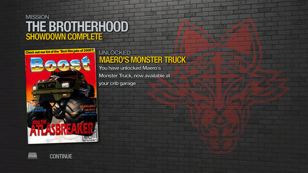 Showdown - Maero's Monster Truck unlocked