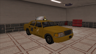 Saints Row variants - Taxi - Eagle - front right