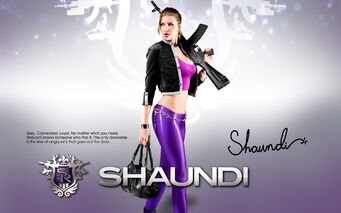 Shaundi - Saints Row The Third promo poster