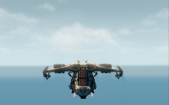 Condor - hover mode - front in Saints Row The Third
