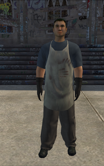 Dockworker - white - character model in Saints Row