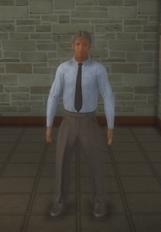 Doctor - lab generic black male - character model in Saints Row 2