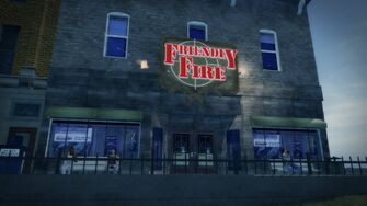Friendly Fire Adept Way - exterior from the west